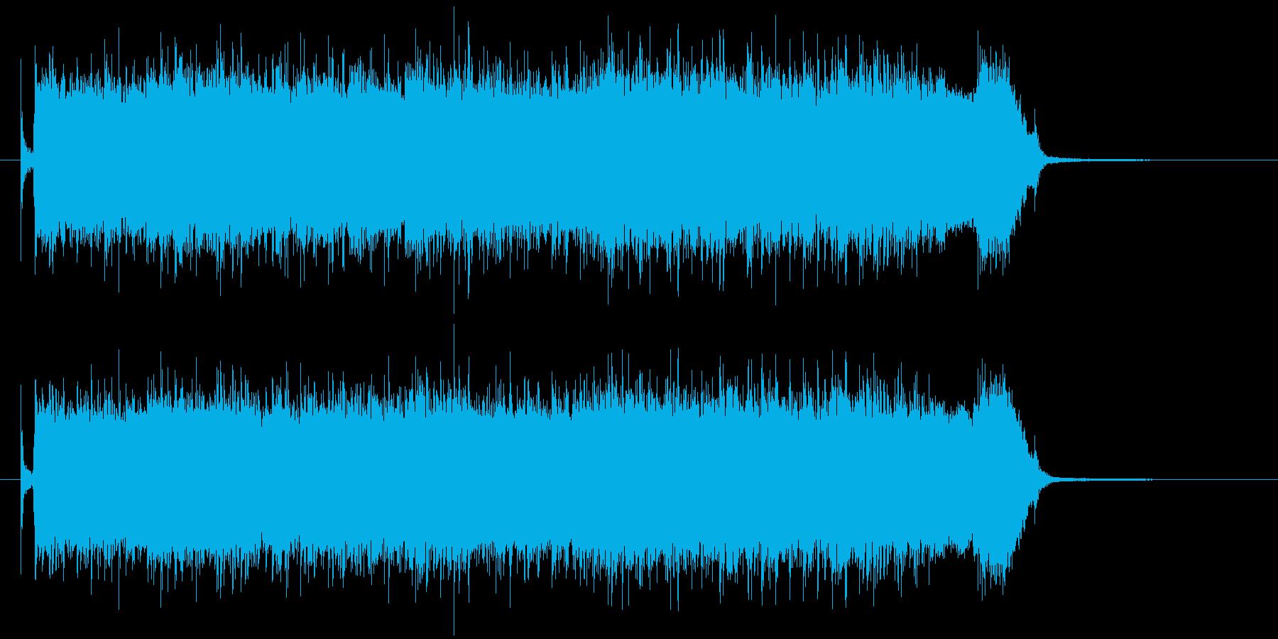 爽やかで少し切ないパンクロックの再生済みの波形