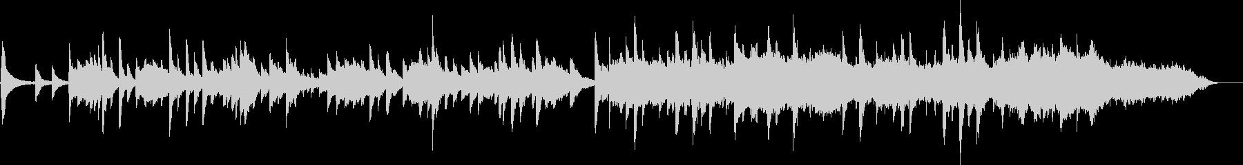優しいアコギの奏の未再生の波形