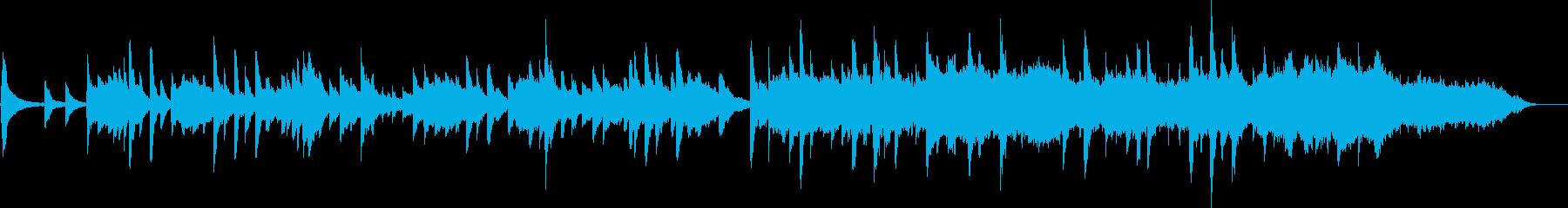 優しいアコギの奏の再生済みの波形