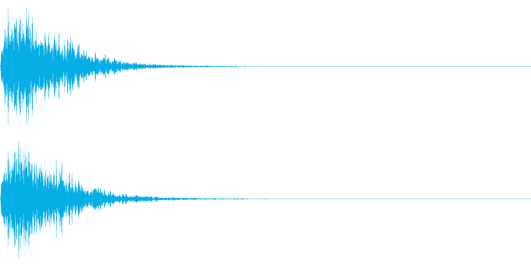鈴(神楽鈴) 和風 ジングル 01の再生済みの波形