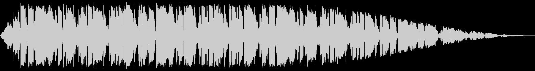 ほのぼの系ポップスインストの未再生の波形