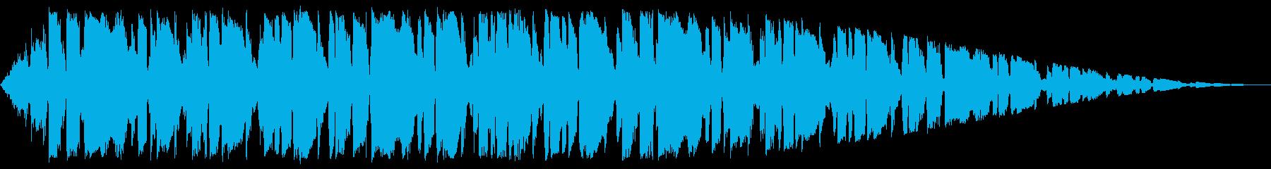 ほのぼの系ポップスインストの再生済みの波形