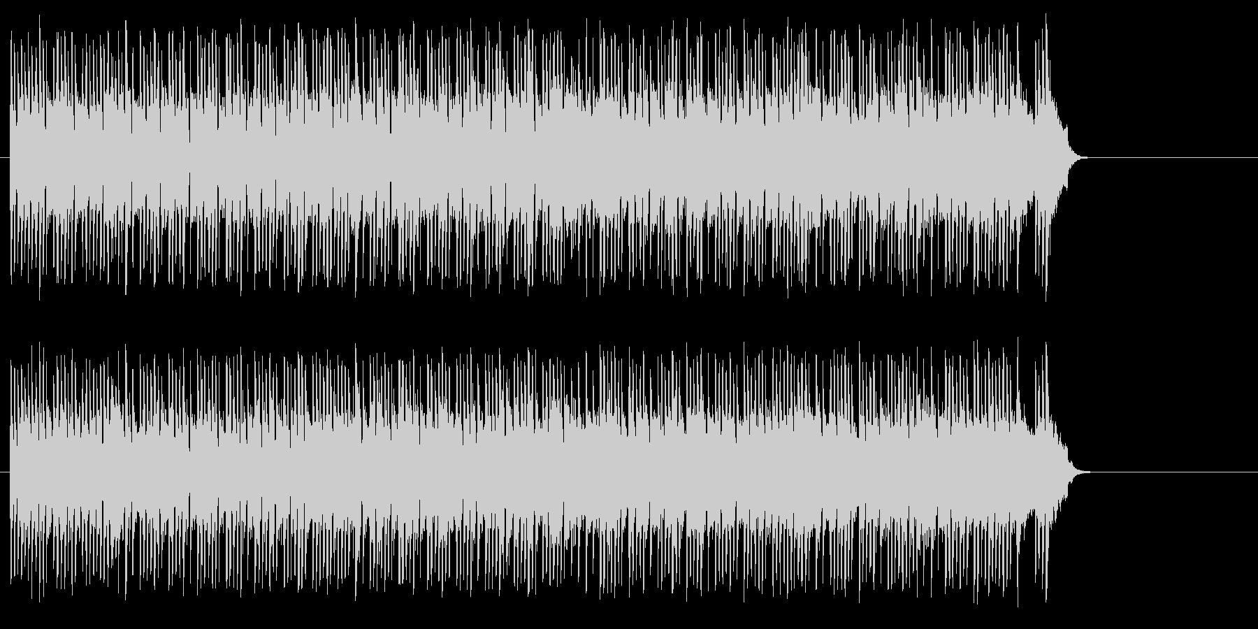 テンポの良いポップ(イントロ~A~サビ)の未再生の波形
