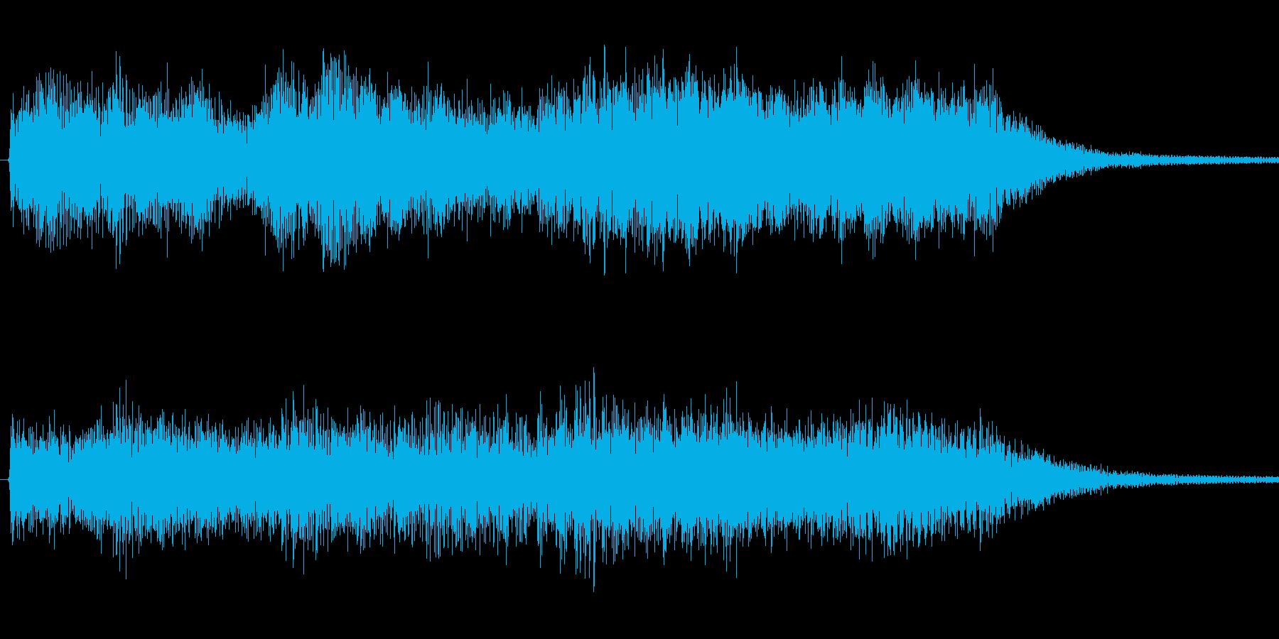 バイオリン、ヴィオラ、チェロなどの楽器…の再生済みの波形
