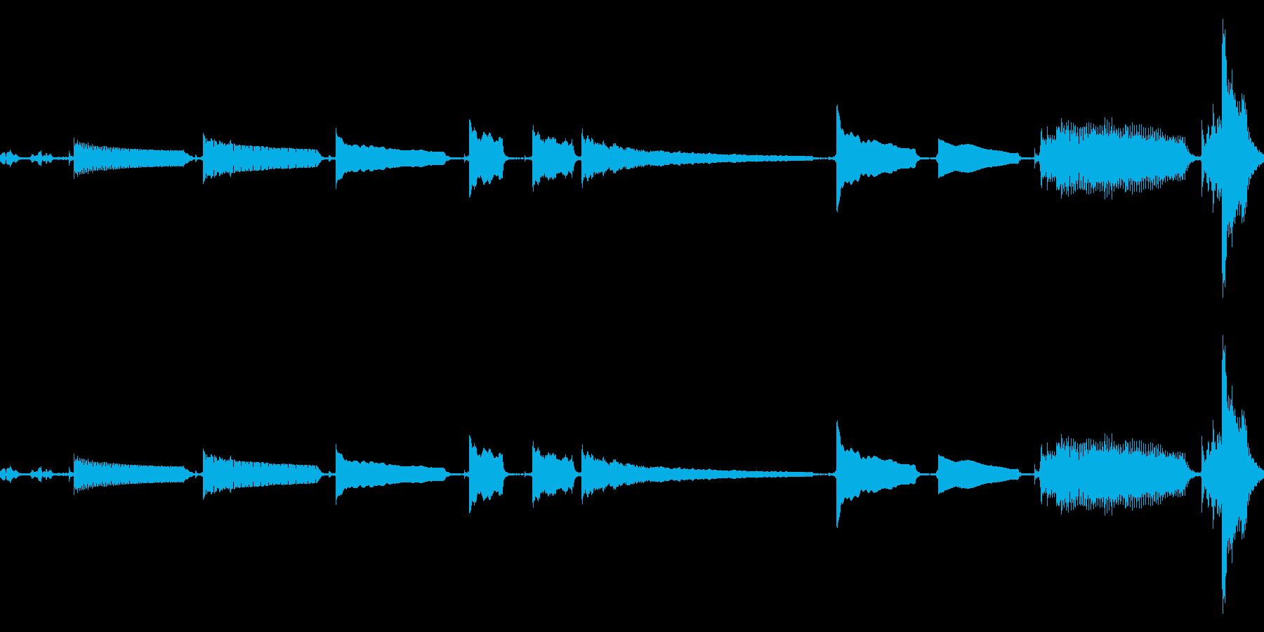 【ギターのチューニング音】その①の再生済みの波形