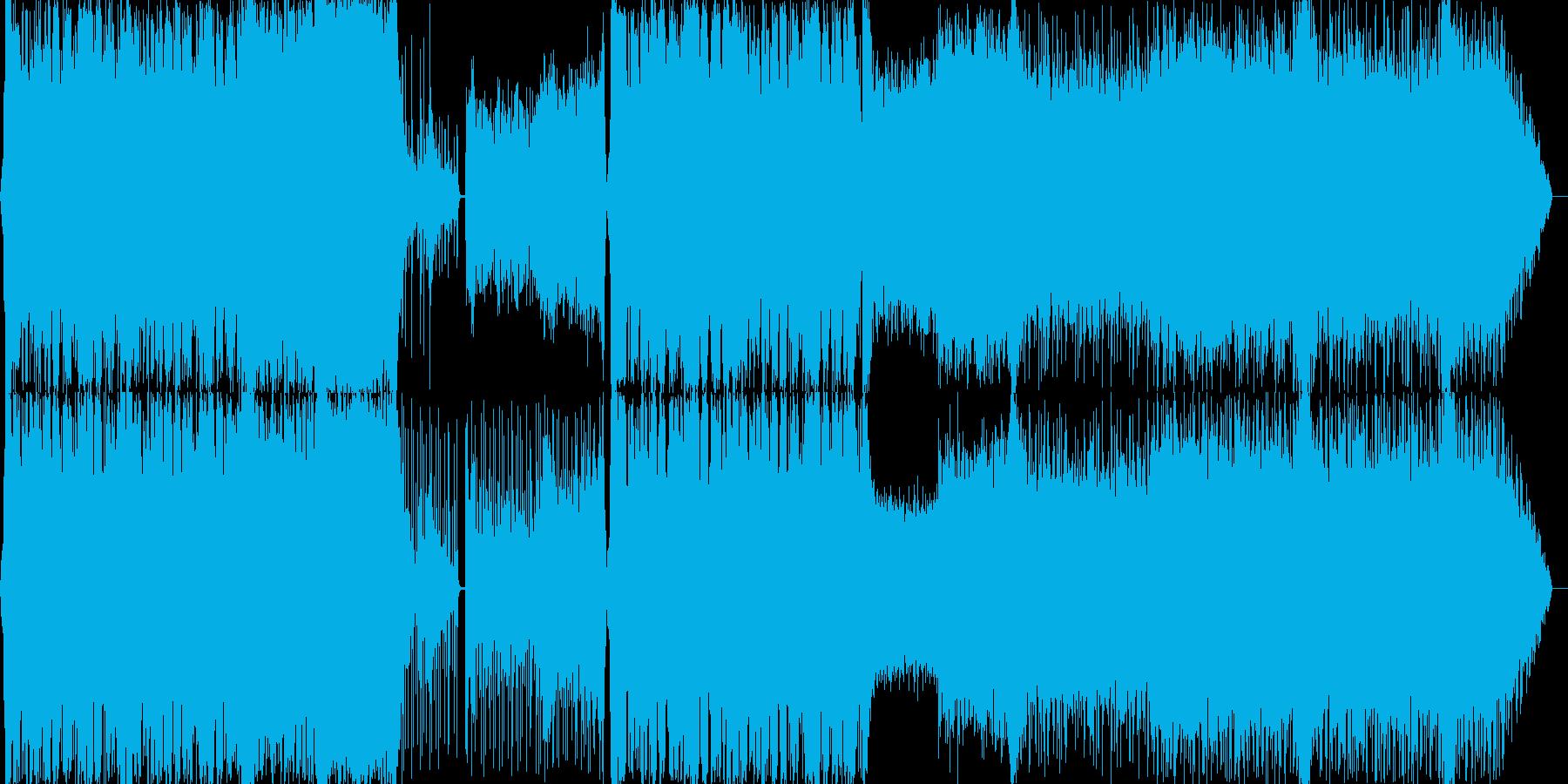 活気ある祭り アコーディオン変拍子の再生済みの波形