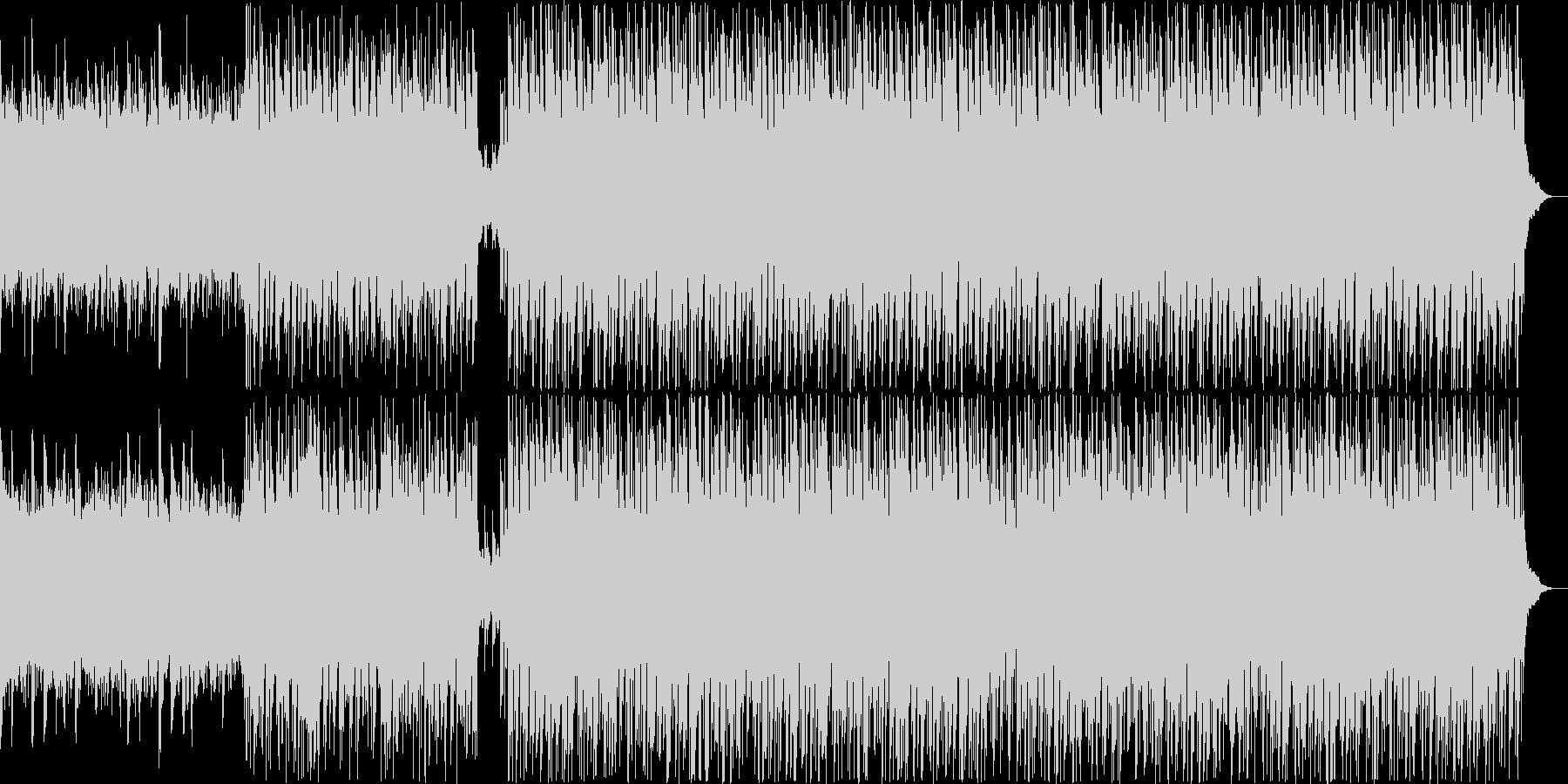 優しさ溢れるエレクトロポップの未再生の波形