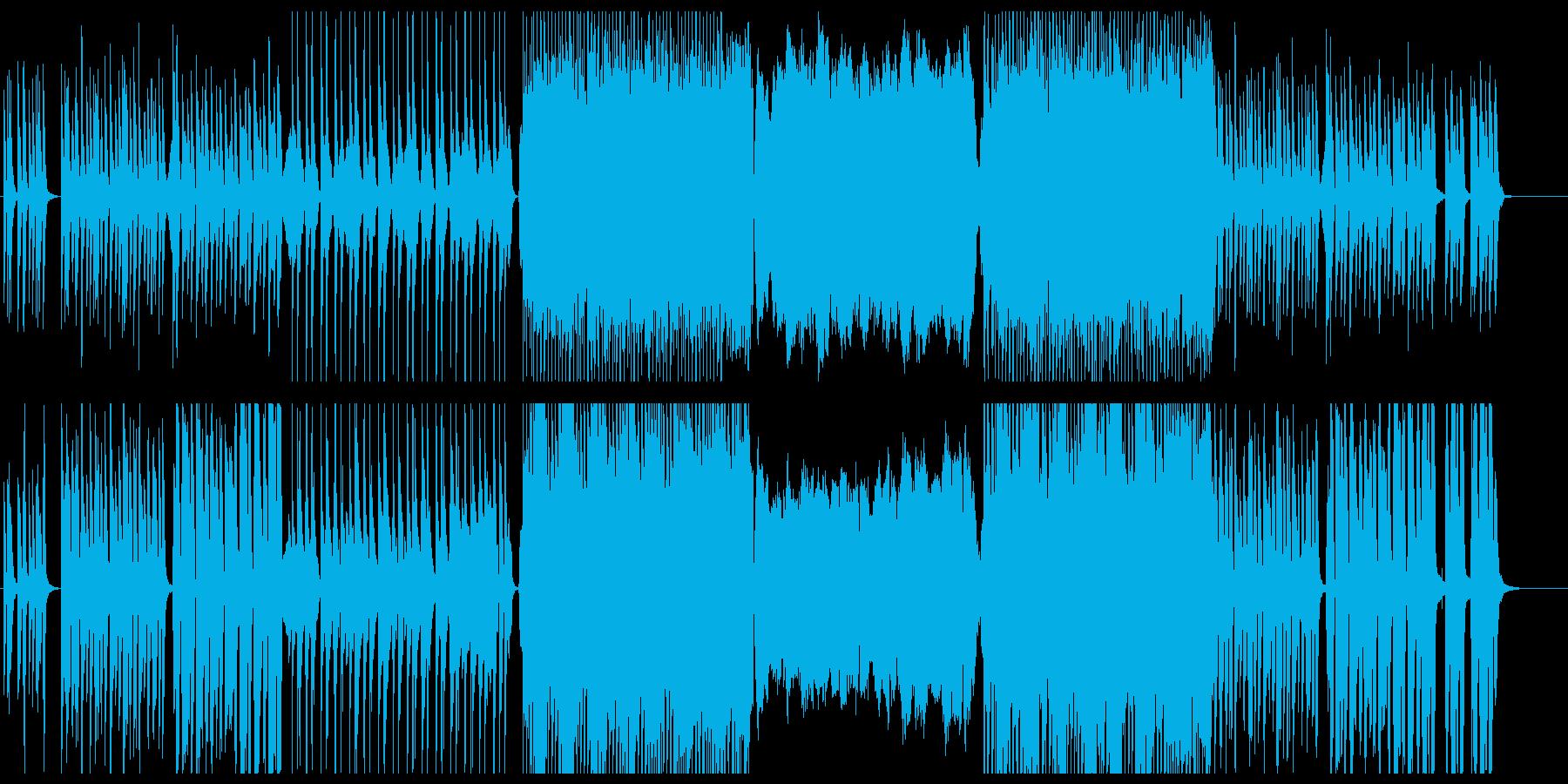 緊張感のあるクラシック風ポップスの再生済みの波形