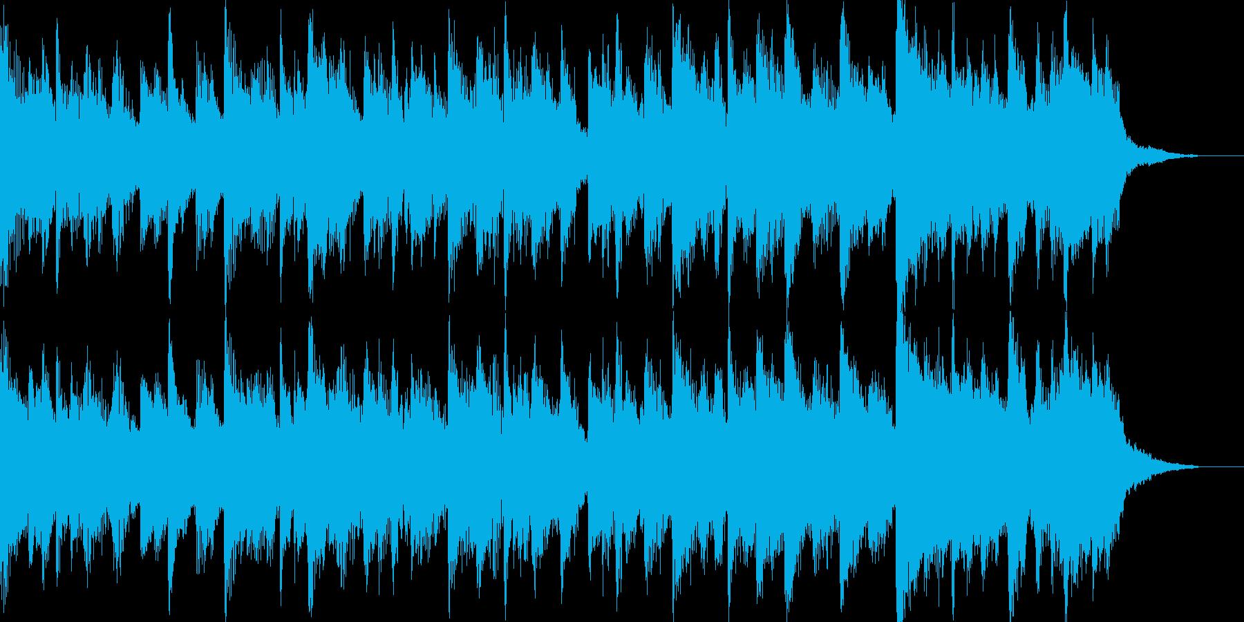 リラックスとしたポップスの再生済みの波形