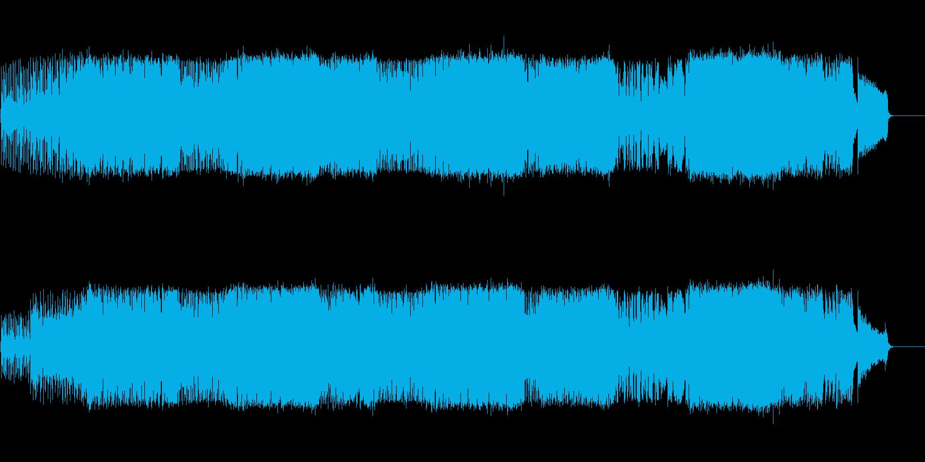 聴くと必ず元気になるポップロックの再生済みの波形