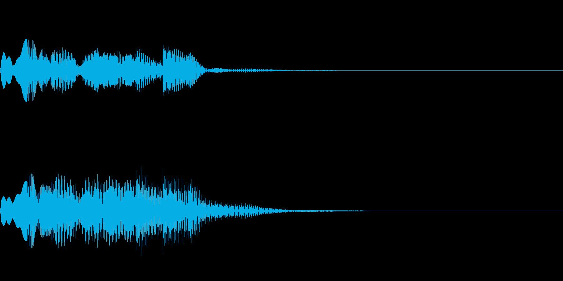 ATM操作終了音~近未来~の再生済みの波形