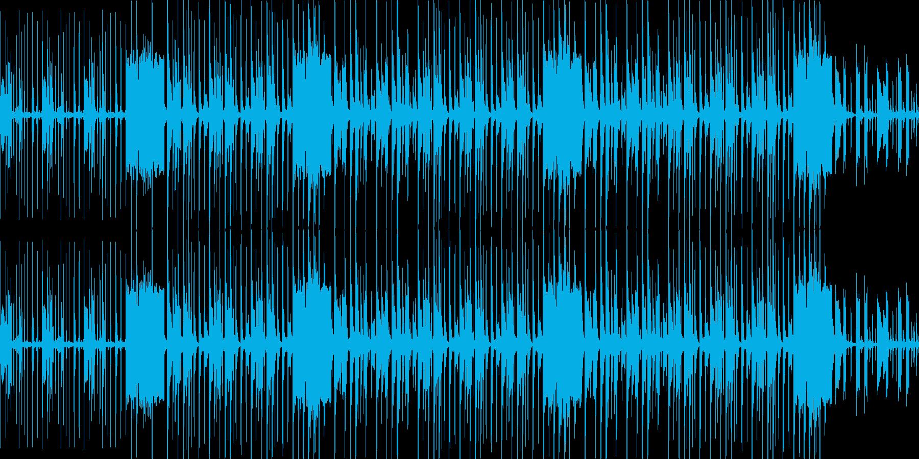 【スローギターファンク】の再生済みの波形