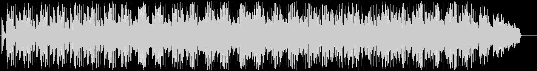 ドラマ向け旅立ちのピアノバラードの未再生の波形