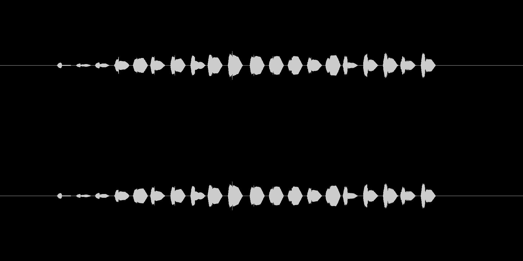 【ポップモーション24-4】の未再生の波形