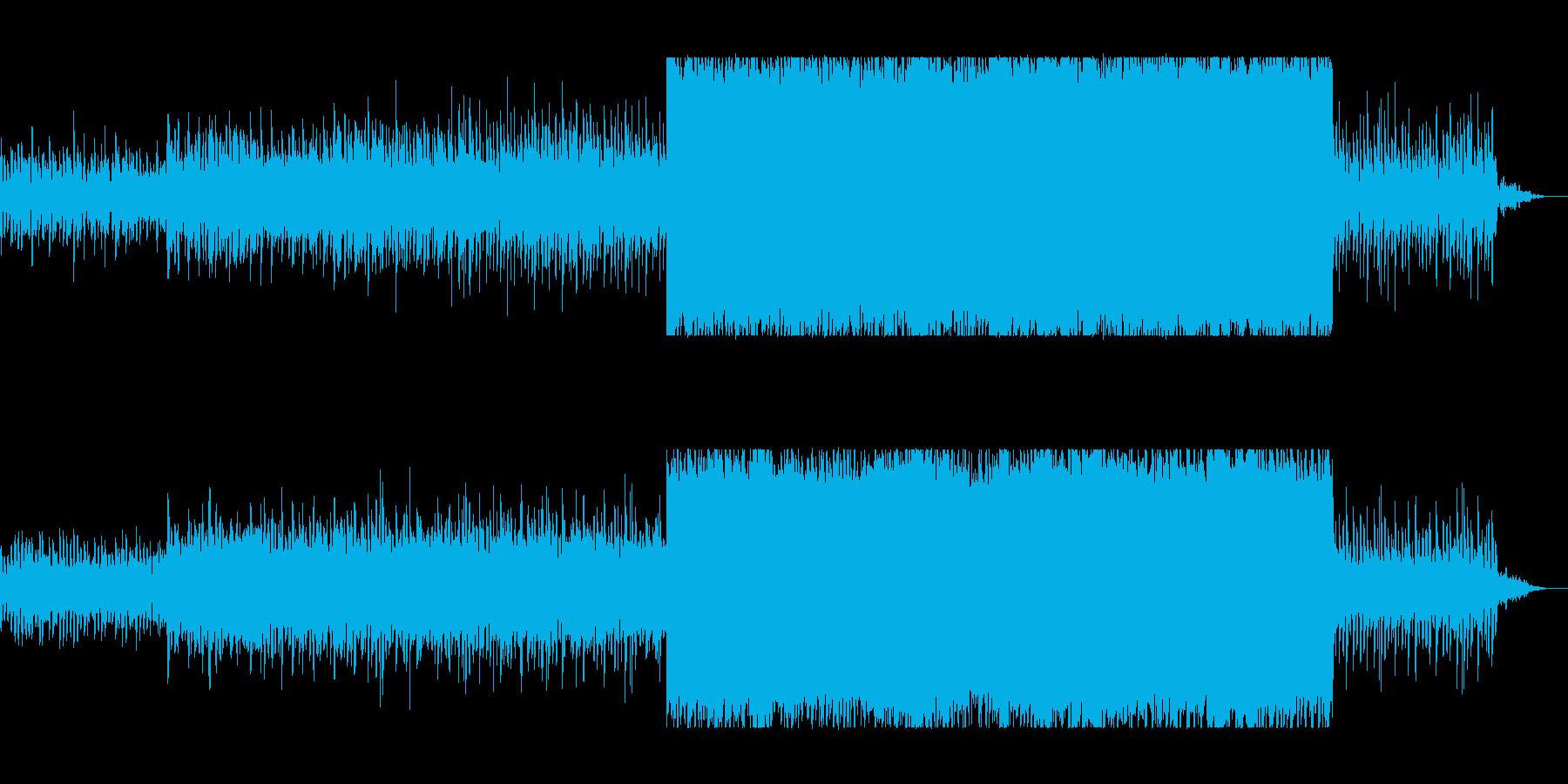 疾走感と透明感のあるピアノサウンドの再生済みの波形