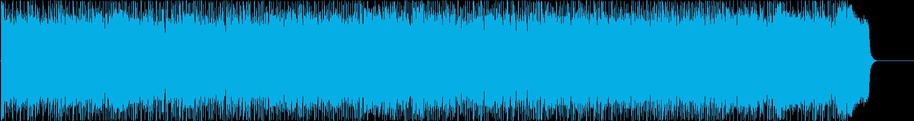 情報 CM ディスコ 躍動 楽しいの再生済みの波形
