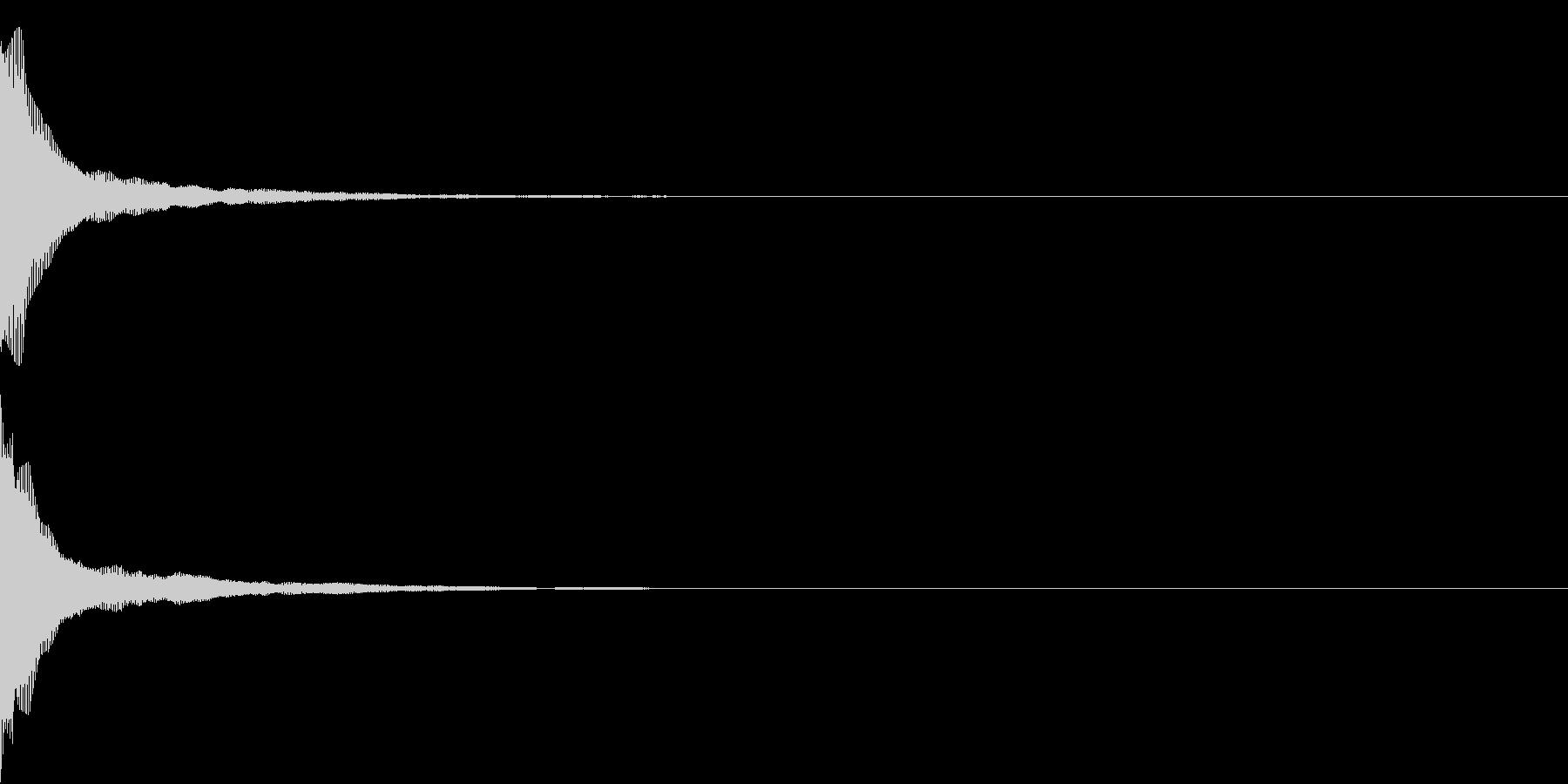 Push 汎用決定・セレクト音 5の未再生の波形