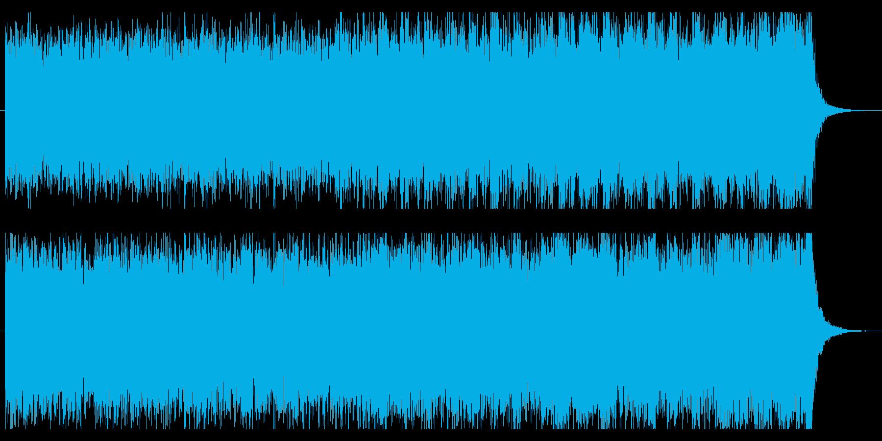【オーケストラ】壮大で緊迫感のある曲 2の再生済みの波形