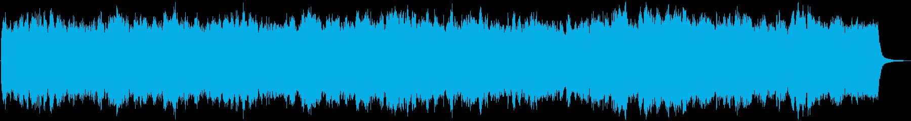 「惑星ソラリス」で有名なバッハオルガン曲の再生済みの波形