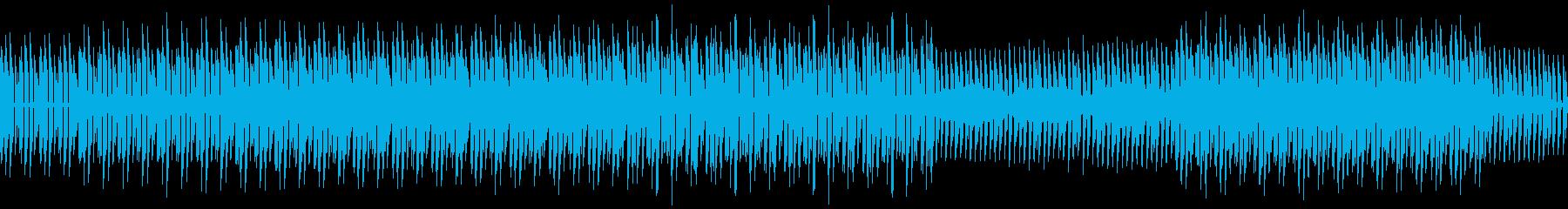 無機質なロボットテクノの再生済みの波形