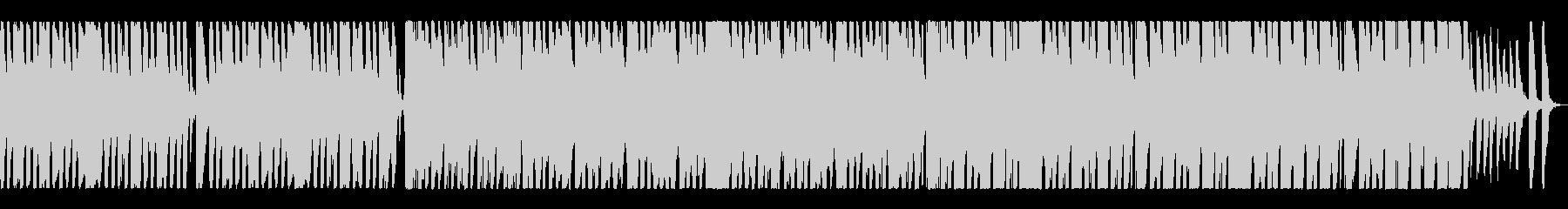 ポップで明るい「ジングルベル」♪の未再生の波形