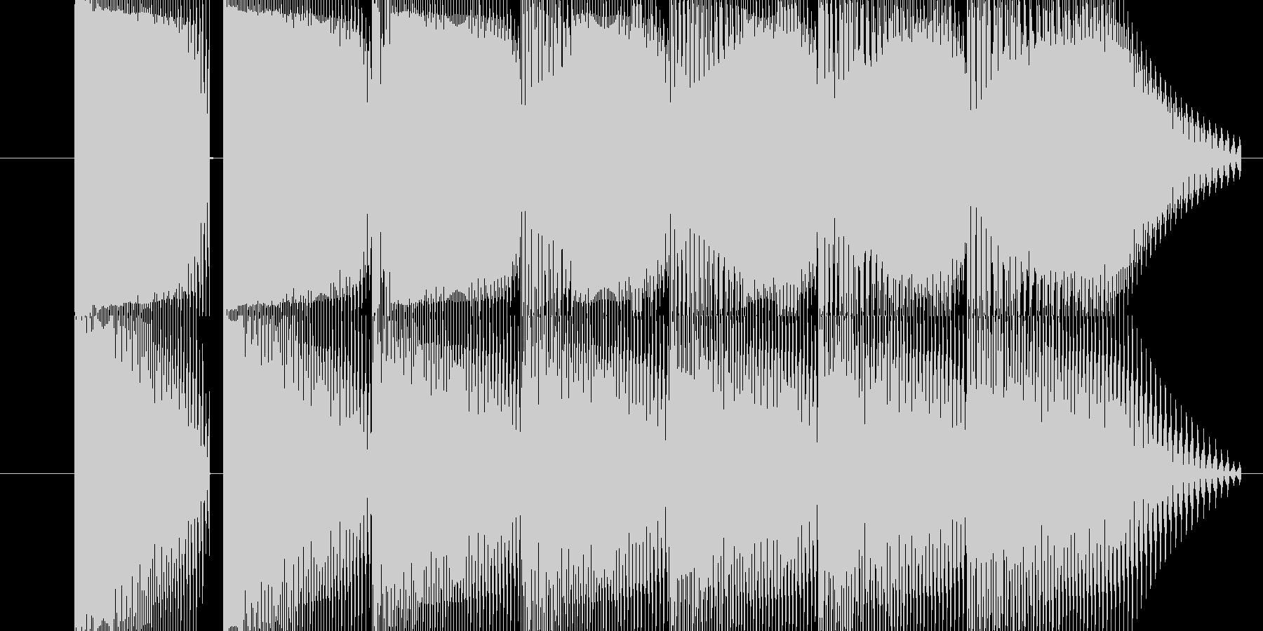 体力が減る音の未再生の波形