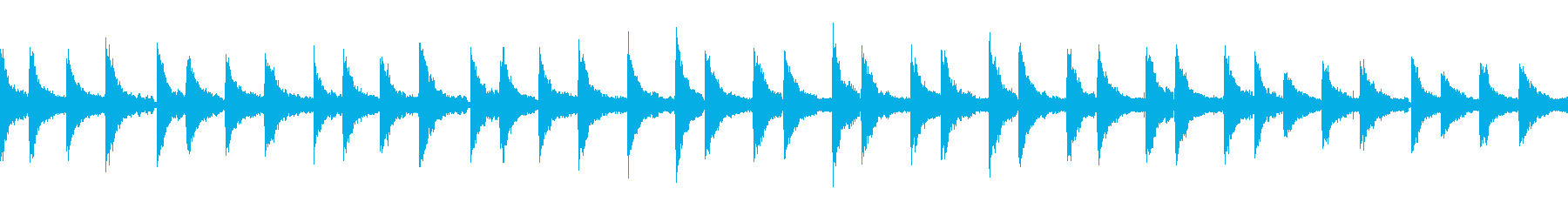 piano loop ピアノループ の再生済みの波形
