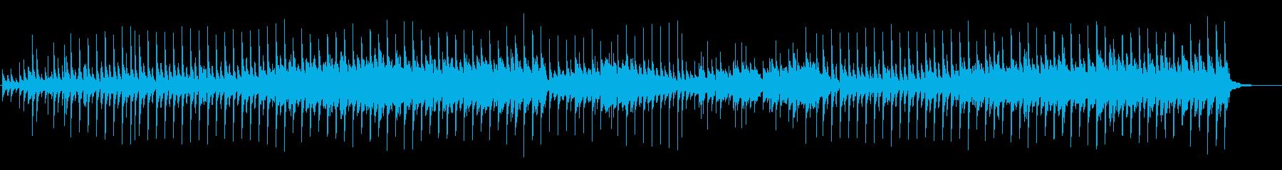 小動物的なかわいい曲の再生済みの波形