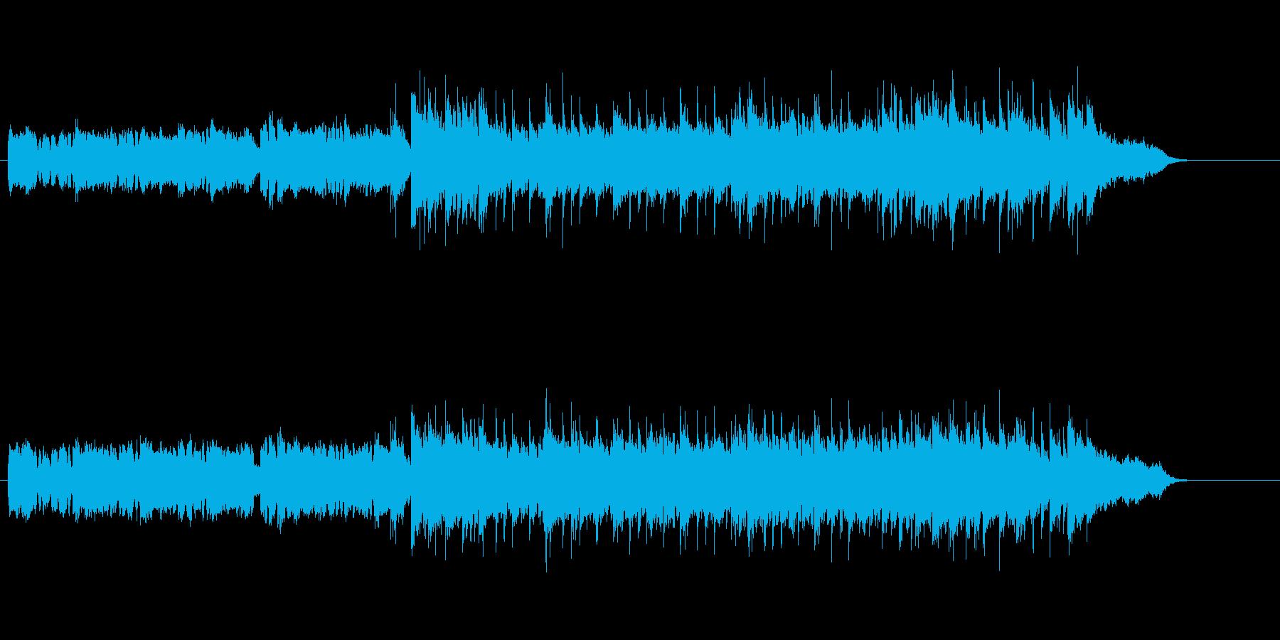 和風メロディーのパワフル・バラードの再生済みの波形