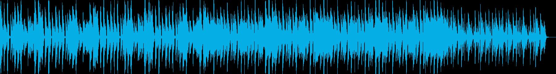 ヒップホップテイストなリズムに合わせて…の再生済みの波形