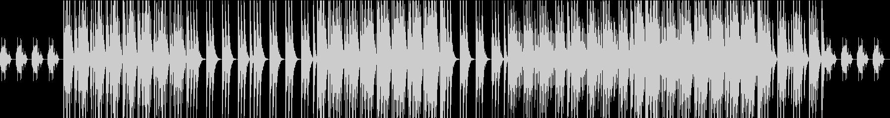 LowSampling Chilloutの未再生の波形