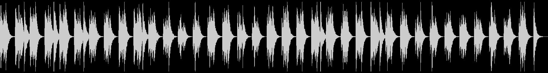 ピッチカートのこっそり曲の未再生の波形