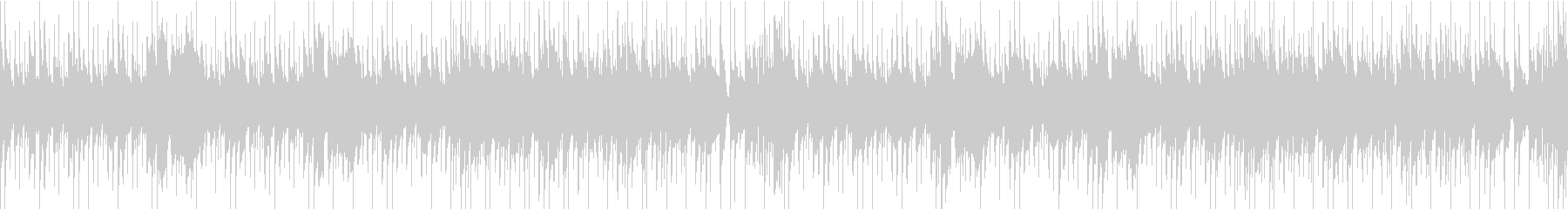 アコギのあたたかな雰囲気のループBGMの未再生の波形