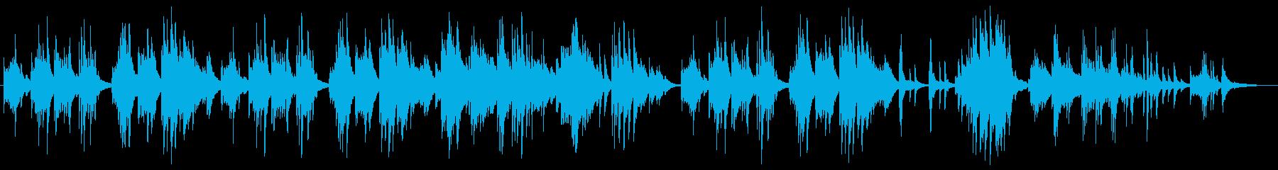 シンプルで心に響く切ないピアノバラードの再生済みの波形