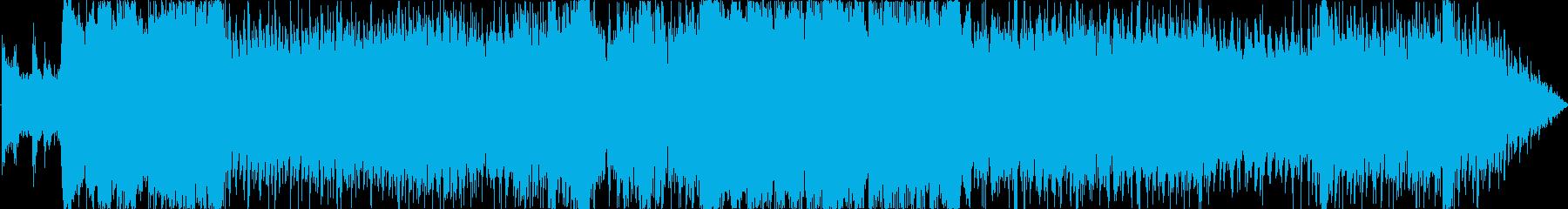 壮大で悲しいボス戦/EDMオーケストラ風の再生済みの波形