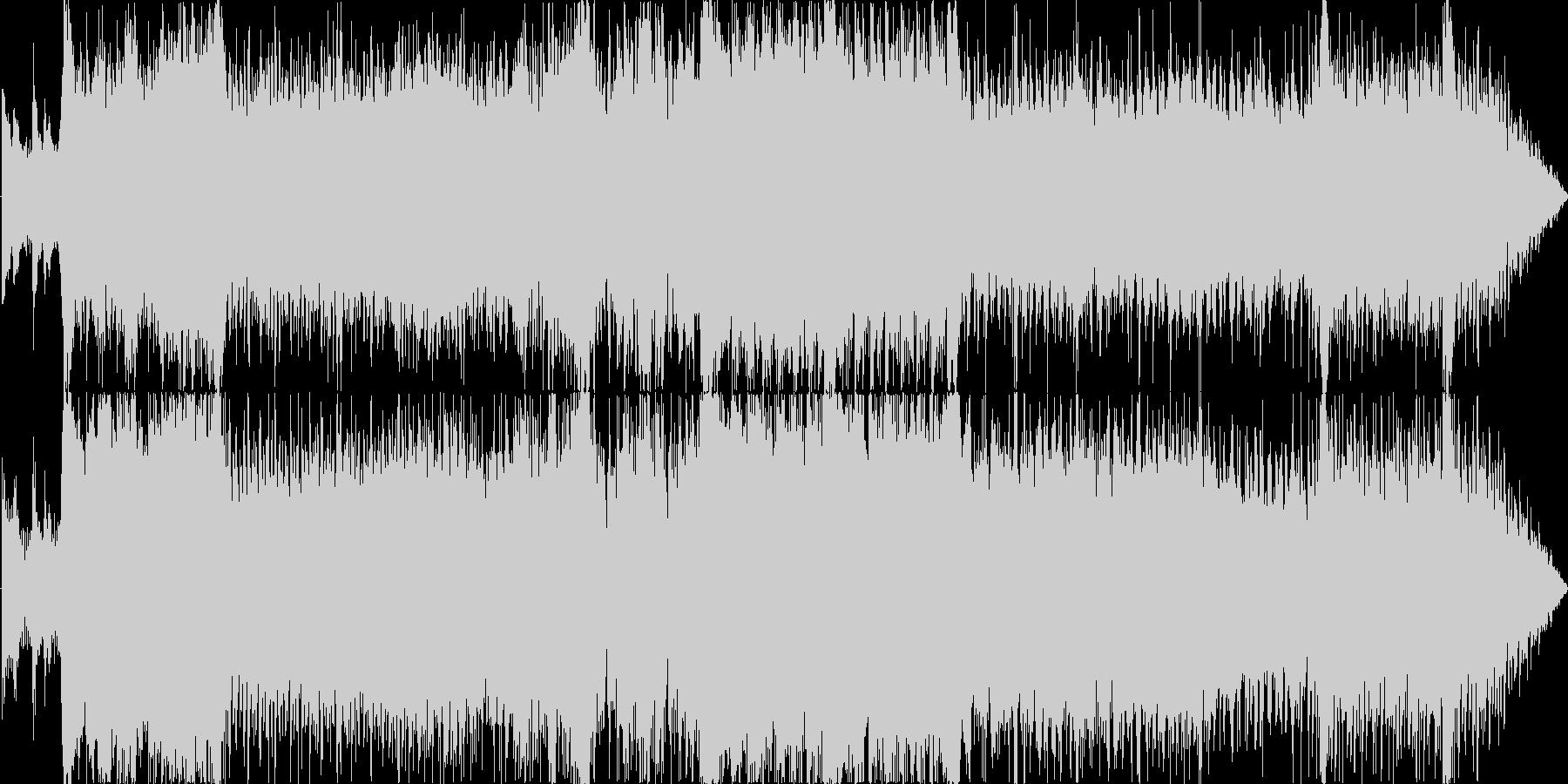 壮大で悲しいボス戦/EDMオーケストラ風の未再生の波形