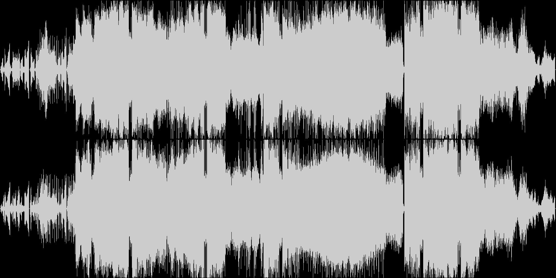 波紋をイメージした和やかで癒やしの一曲の未再生の波形