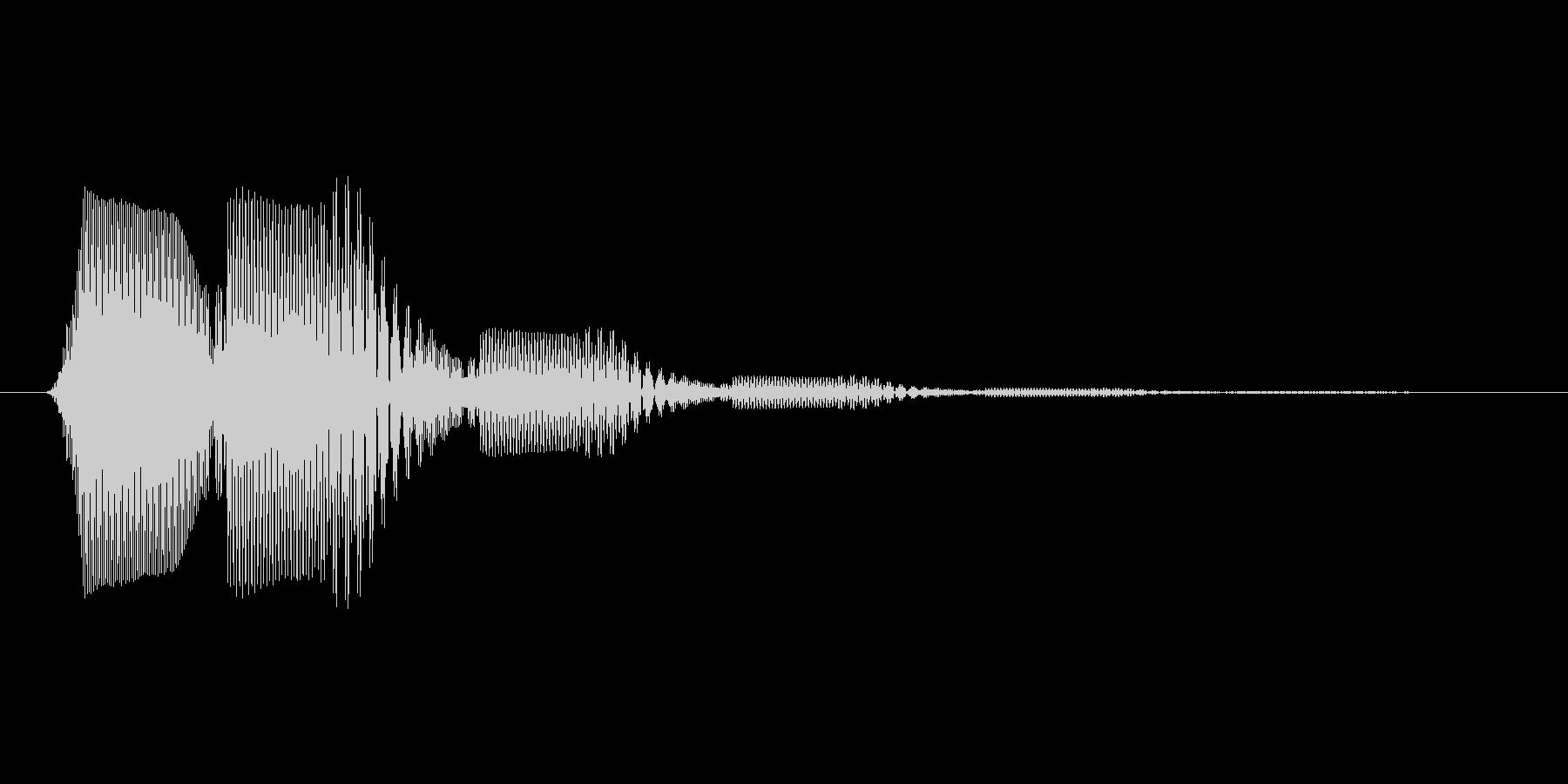 ファミコン風効果音 キャンセル系 16の未再生の波形