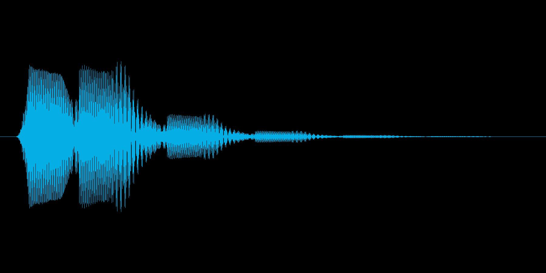 ファミコン風効果音 キャンセル系 16の再生済みの波形
