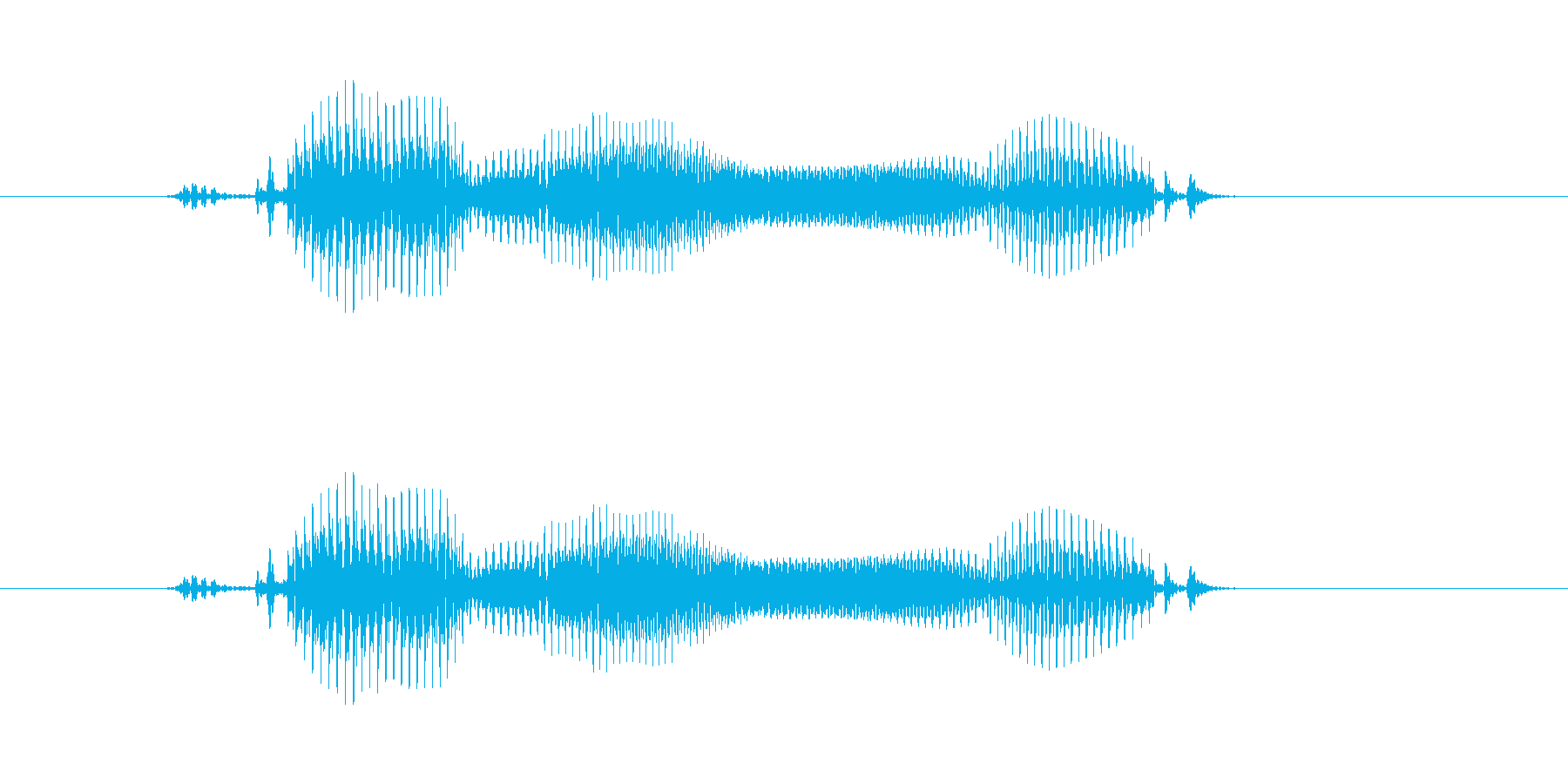 【年数】5年後の再生済みの波形