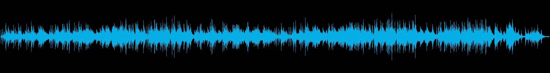 優しくせつないドラマティックなピアノソロの再生済みの波形