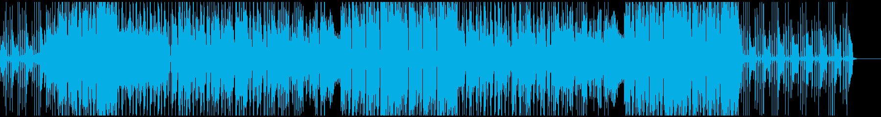 シンセサイザーと口笛がドリーミーなBGMの再生済みの波形