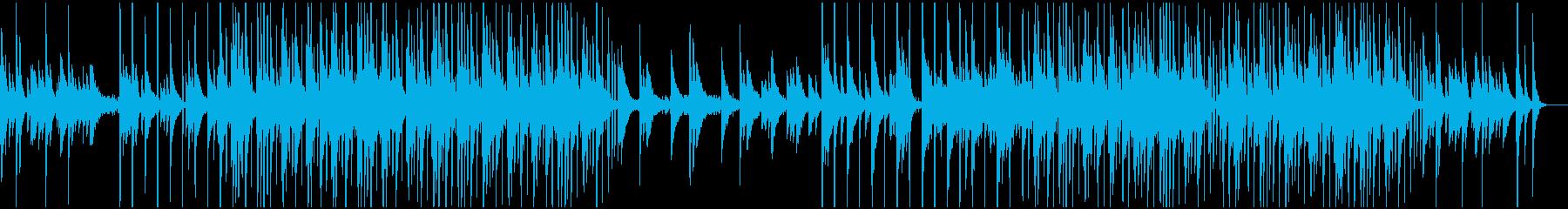 和風のインストヒップホップの再生済みの波形