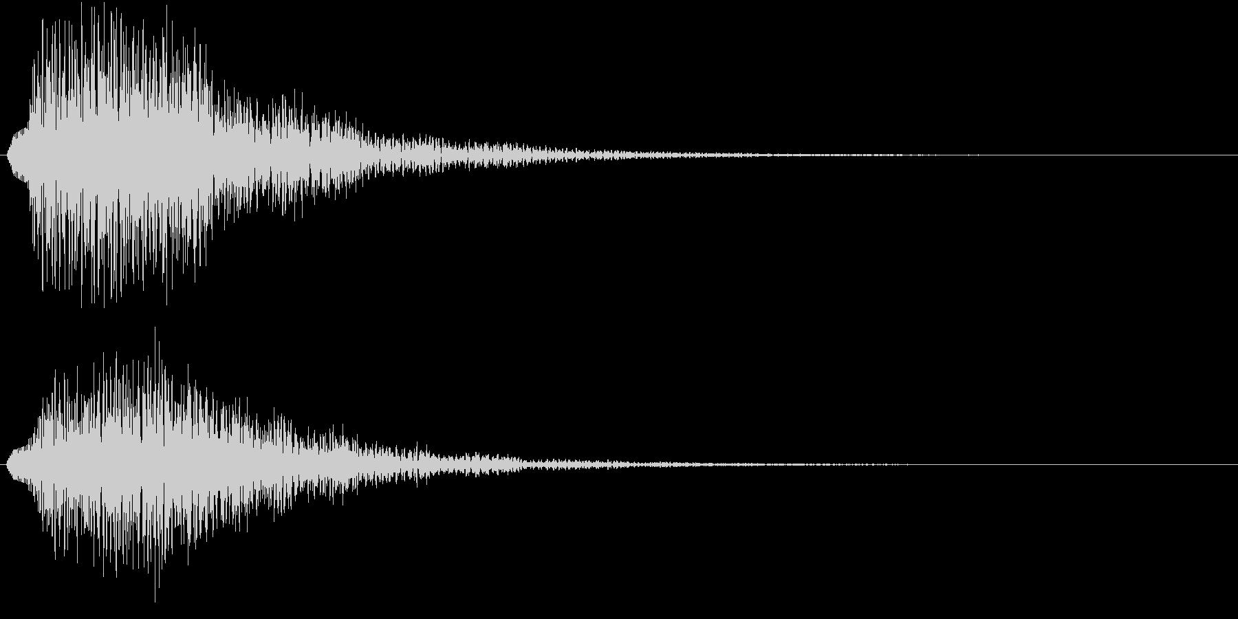 ホローン(サウンドロゴ、決定、ゲーム)の未再生の波形