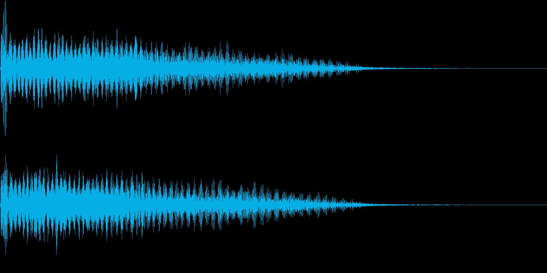InvaderBuzz 発砲音 32の再生済みの波形