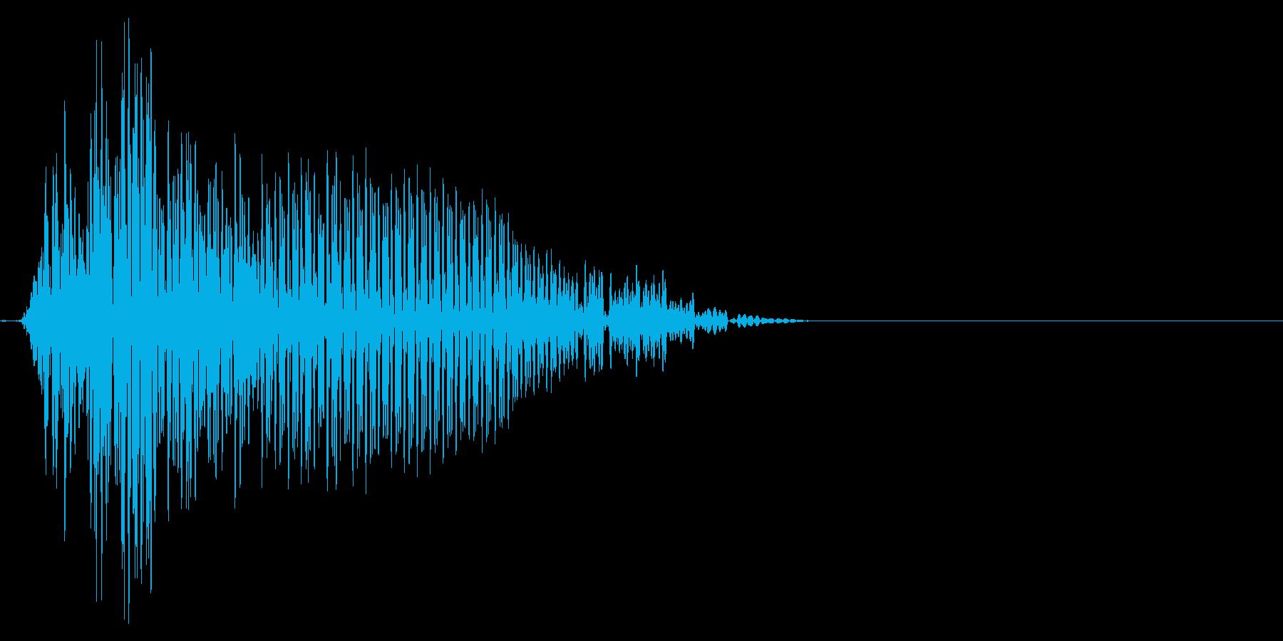 ゲーム掛け声ゾンビ1オー3の再生済みの波形