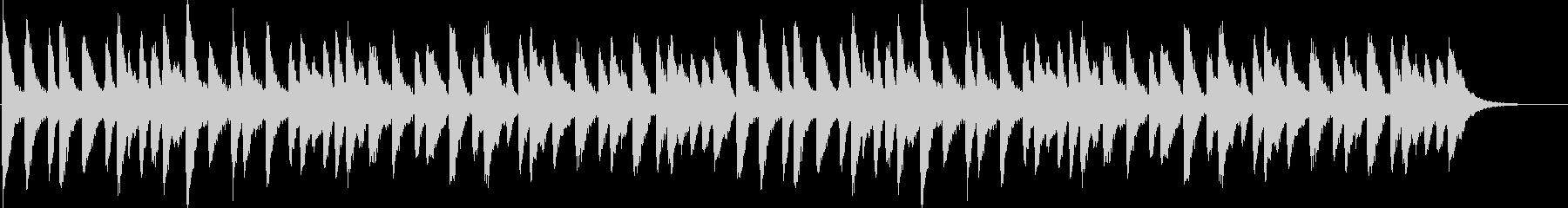 クリスマス、ベルの音色、ロングバージョンの未再生の波形