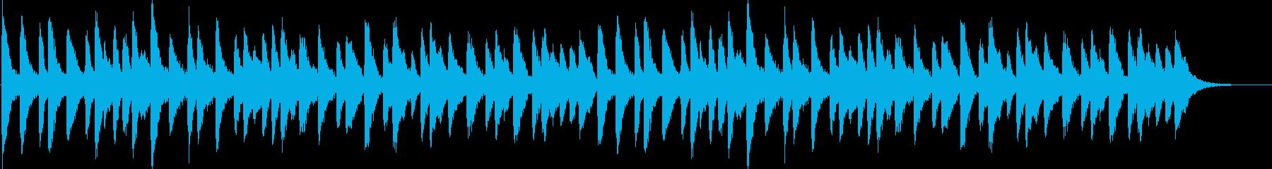 クリスマス、ベルの音色、ロングバージョンの再生済みの波形