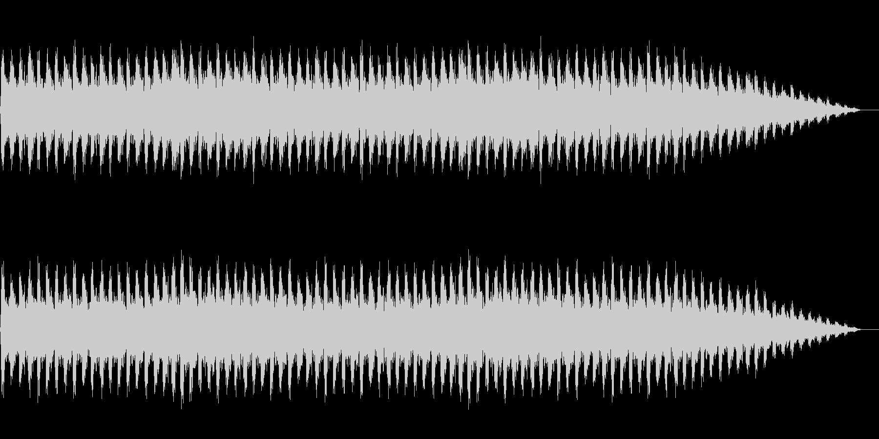 勇壮な合唱オーケストラ:編集版Bの未再生の波形