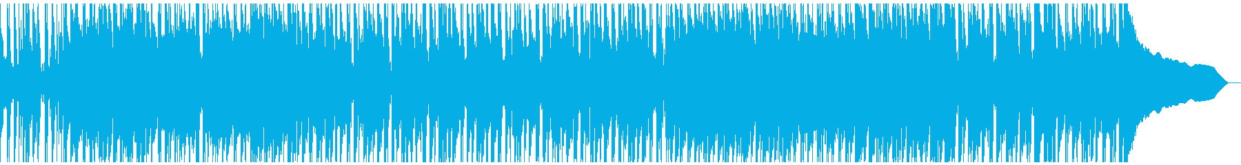 農家をイメージしたほのぼの系ポップスの再生済みの波形